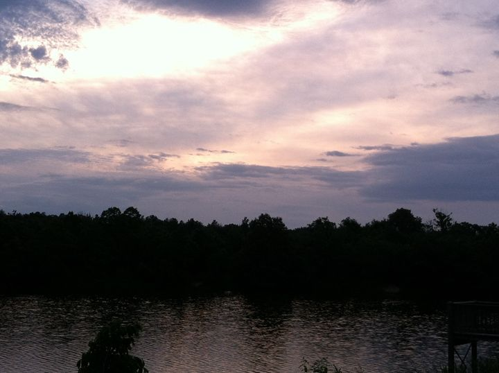 Lake at the Park - Joyce Boley