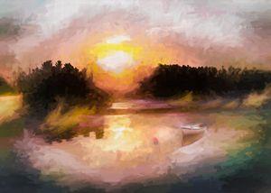 Lake of the Woods Sunrise