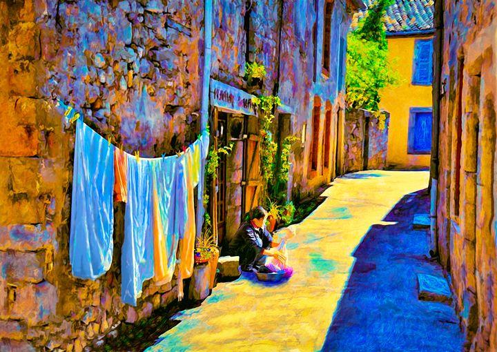 Sun Dried - Wib Dawson Paintings