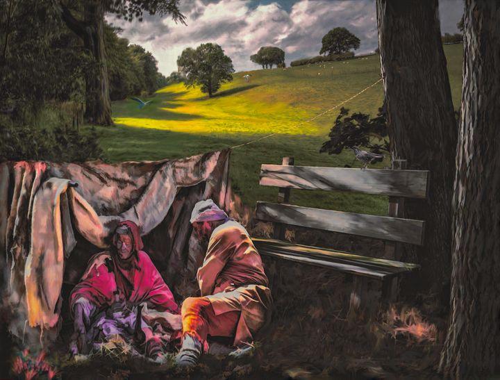 Living Rough - Wib Dawson Paintings