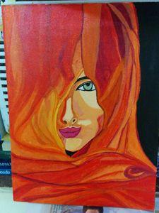 lady in veil