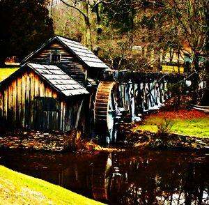 Mabry Mill In The Winter