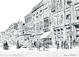 Milwaukee Street - David K. McMillin