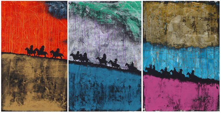 Indians - Stephane Korb Art