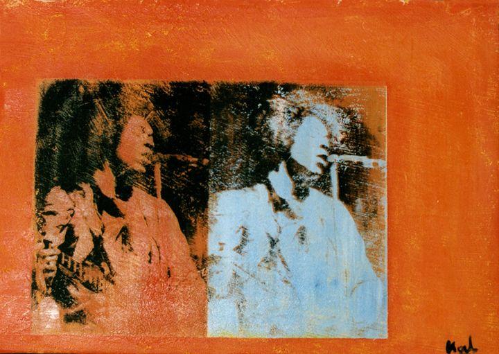 Jimi Hendrix - Stephane Korb Art