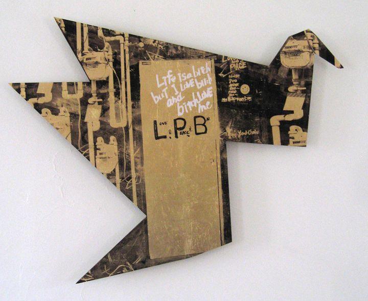Love peace and bar - Tokyo - Stephane Korb Art