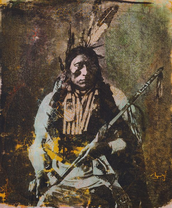 Ma ya wa na te ya - Blackfoot - Stephane Korb Art