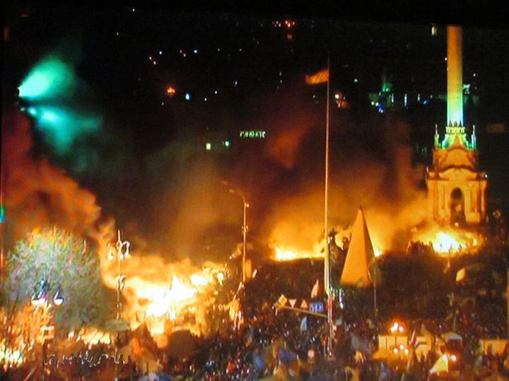 Night in Kiev - Digital Paintings
