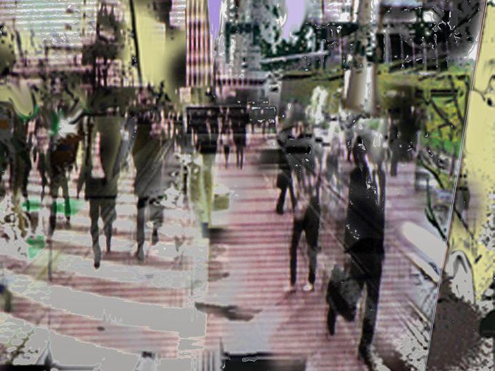 Streetshow - Digital Paintings