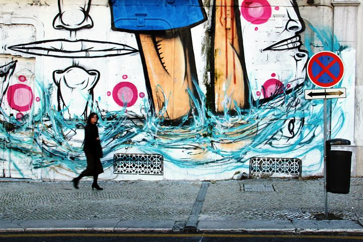 Street art walk - Leandro Guardado