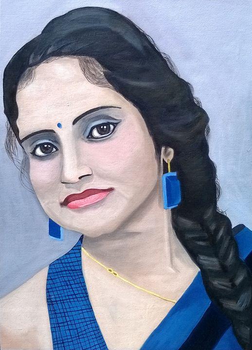 Beautiful Indian Woman - Hem Arts