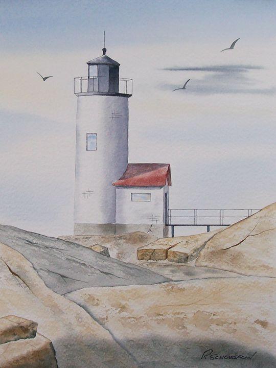 Annisquam Lighthouse II - Richard & Joan schoessow