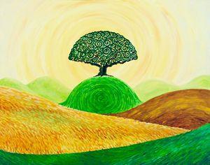 Tree of Swirls