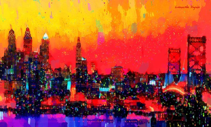 Chicago Skyline 10 - Leonardo Digenio
