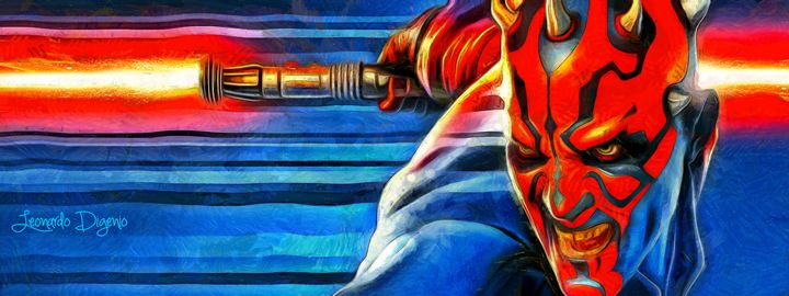 Star Wars Darth Maul - Leonardo Digenio