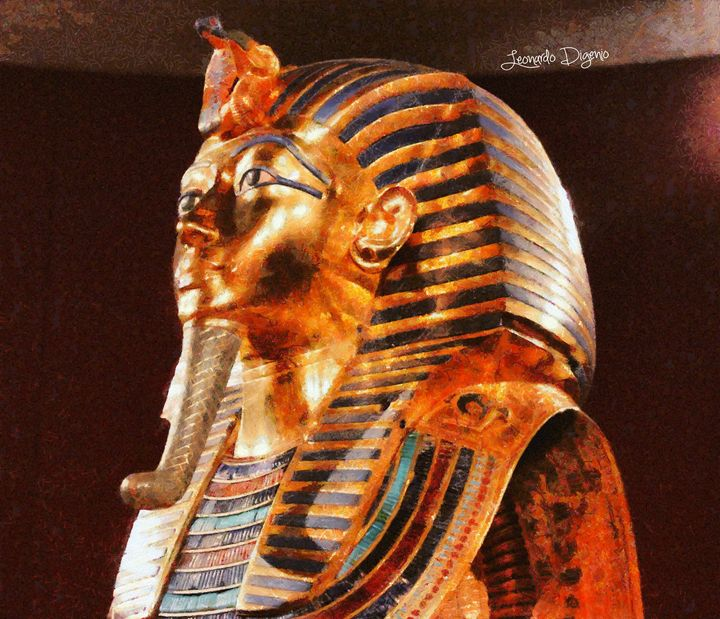 Tutankhamun Golden Mask - Leonardo Digenio