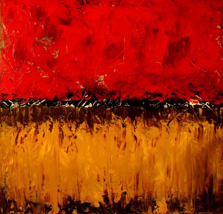 Hot Fields - Art by Donna Mann