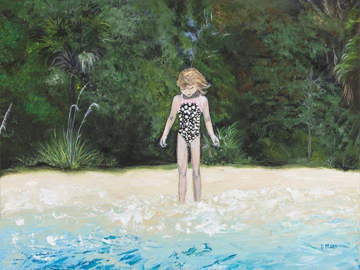 Sweet Maddie - Art by Donna Mann