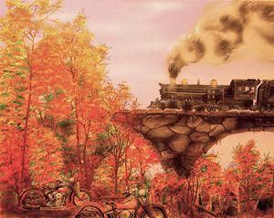 Fall Run, By Mark Brown