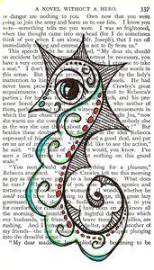 Seahorse in Book