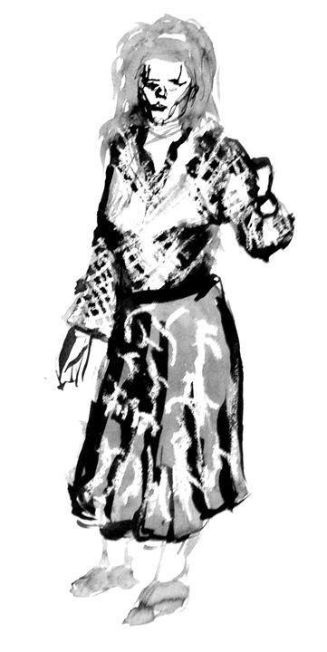 5mins Bamboo/Brush Life Drawing #2 - Bashaar Khan