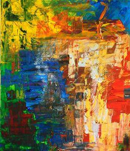 Happy 60x70 acrylic on canvas
