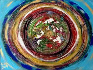 Time, 60x80 acrylic on canvas