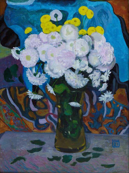 White flowers - Moesey Li