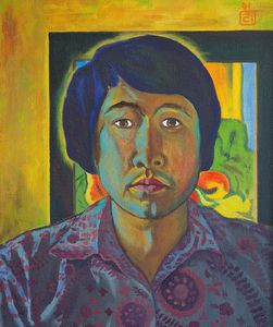 Self-portrait 1991