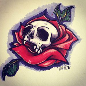 Skull nature