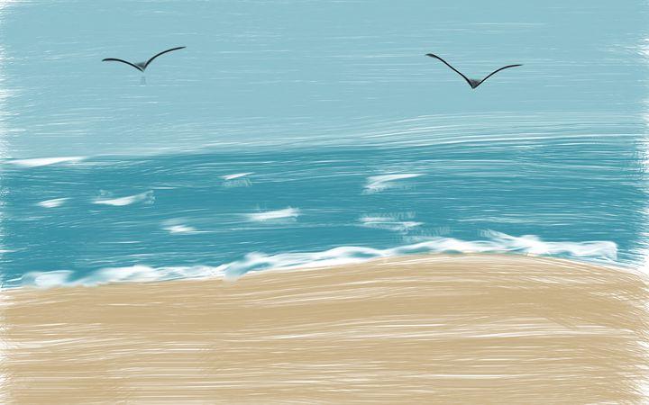 Beach Day - Tanya