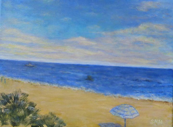 Taking a Beach Day - SueNeufarthHowardArt