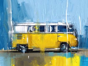 Yellow Camper