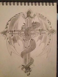 dragon of the cross