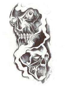 Skeleton Faces