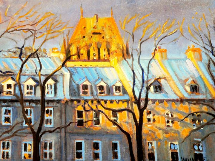 Old Quebec houses - imaginart