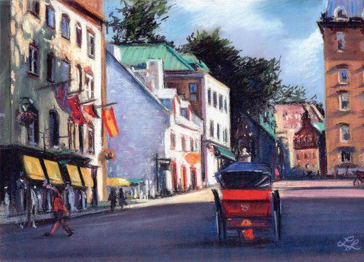 Rue Des Jardins Quebec City - imaginart
