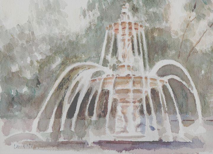 The water fountain - imaginart