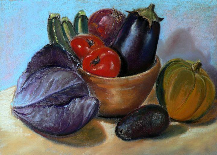 Vegetables harvest - imaginart