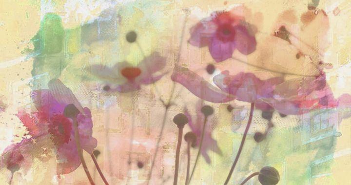 Flowery field - imaginart