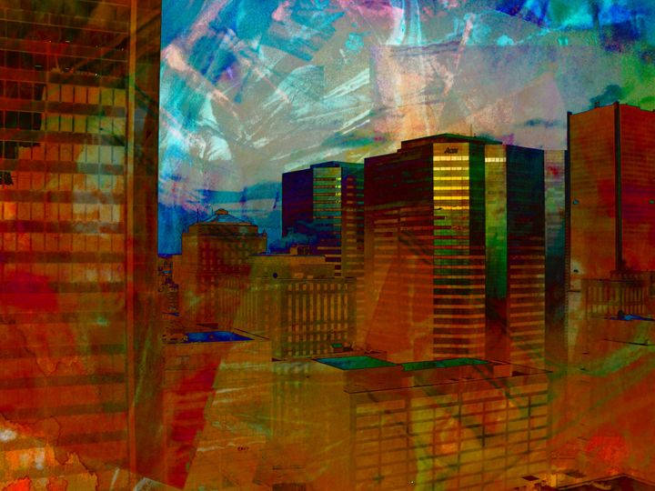 Downtown Montreal - imaginart