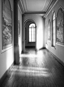 Peaceful hallway