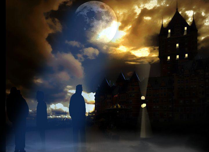 Mystery night in Quebec City - imaginart