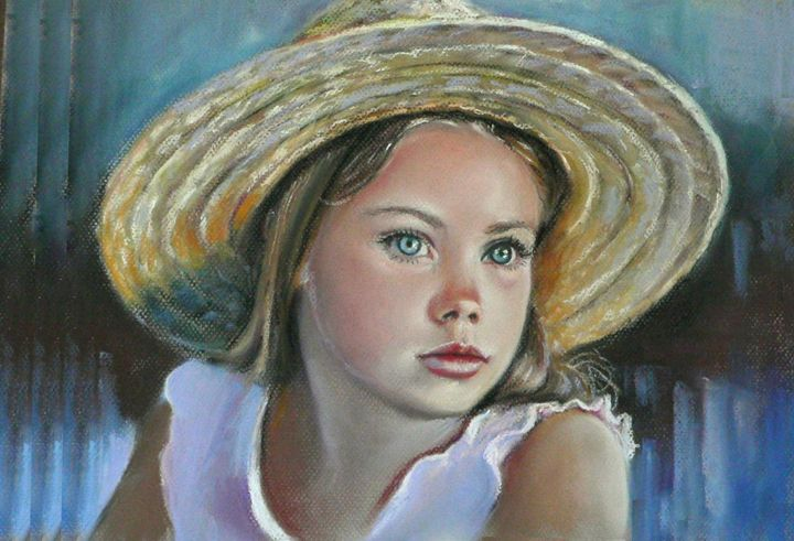 Little country girl - imaginart