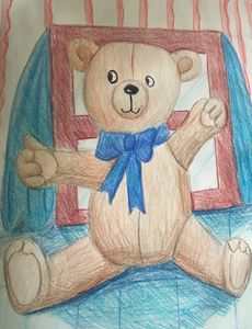 Cuddles the Teddy Bear