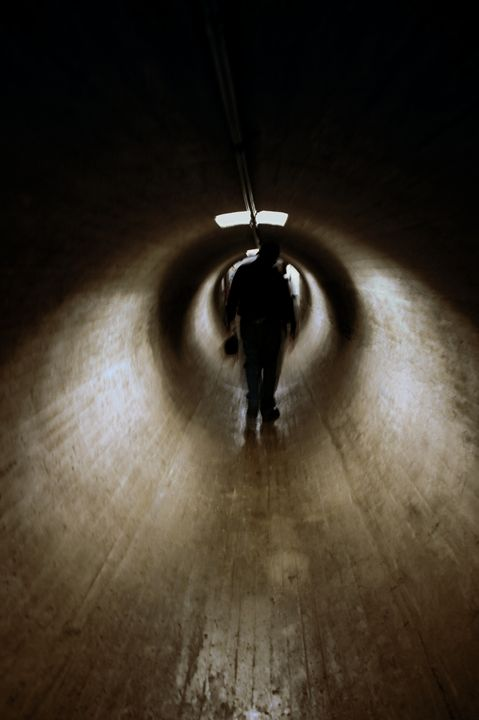 mysterious tunnel - Unseen Gallery Prints
