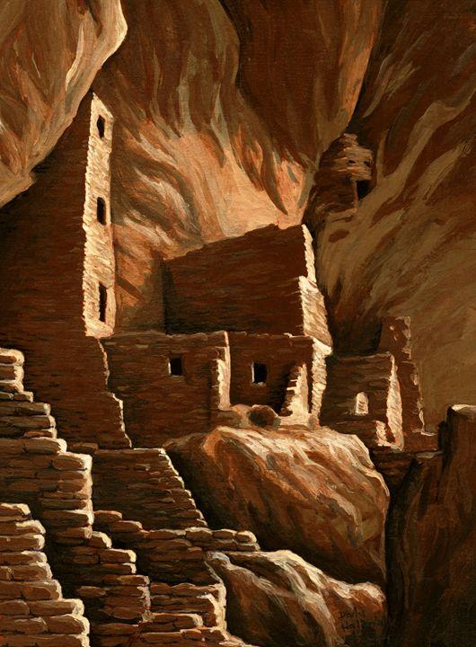 Mesa Verde cliff dwellings - Unseen Gallery Prints
