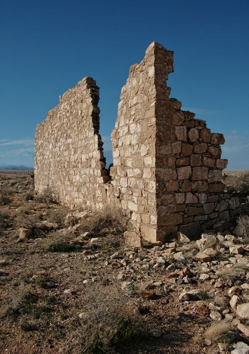 Diablo Canyon Ghost Town - Unseen Gallery Prints