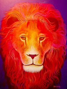 The Purple Lion