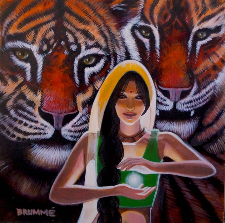Kali and Her Tigers: the second one - Steve Brumme